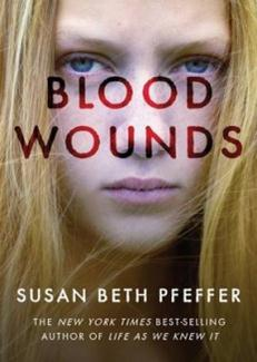 Book Cover of Blood Wounds by Susan Beth Pfeffer