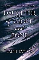 Book Cover of Daughter of Smoke and Bone by Laini Taylor