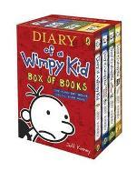 Boxed Set of Diary of a Wimpy Kid by Jeff Kinney