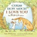 Book Cover of Guess How Much I Love You Pop Up Edition by Sam McBratney