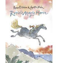 Book Cover of Rosie's Magic Horse by Russell Hoban, illustrated by Quentin Blake